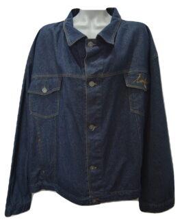 Geaca jeans marime mare, 8 xl american, KING SIZE blue – talie 190 cm