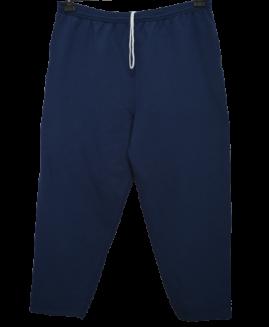 Pantalon trening bumbac captusit, xxl american, HANES talie 110-160 cm