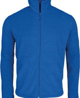 Bluza Fleece UNISEX cu fermoar, xxxxl american, Kariban Albastru royal talie 160 cm