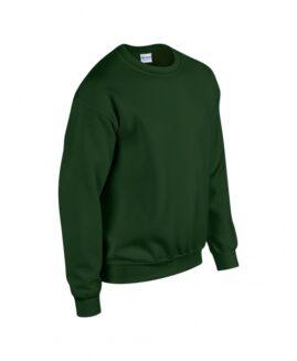 Bluza sport bumbac , xxl american, GILDAN verde forest – talie 150 cm