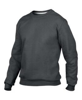 Bluza sport bumbac , xxxl american, ANVIL gri inchis – talie 170 cm