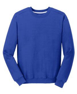 Bluza sport bumbac , xxxl american, ANVIL albastru royal – talie 170 cm