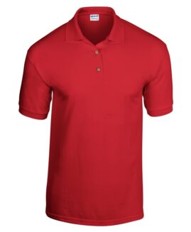 Tricou unisex, bumbac 100% pique polo, xxxl american, GILDAN USA rosu – talie 160 cm
