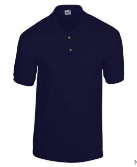 Tricou unisex, bumbac 100% pique polo, xxxl american, GILDAN USA navy – talie 160 cm