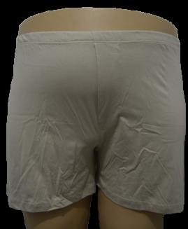 Boxer bumbac cu slit, marime mare 3 xl american, ALAMICUTZU bej talie 90 – 170 cm