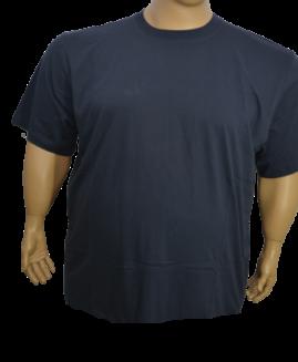 Tricou bumbac mineca scurta, 6 XL ALAMICUTZU albastru navy – talie 200 cm
