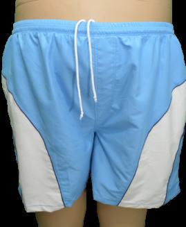 Pantalon scurt-bermude de baie, cu plasa pe interior si snur, marime foarte mare 7 XL  ALAMICUTZU talie 120 - 190 cm