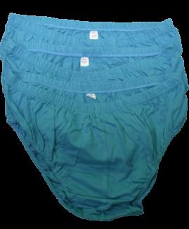 Set de 3 bucati, chilot barbati bumbac, marime mare 3 xl ALAMICUTZU, albastru royal talie 90 – 150 cm