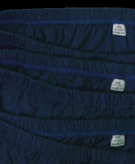 Set de 3 bucati, chilot barbati bumbac, marime mare 3 xl ALAMICUTZU, navy talie 90 – 150 cm