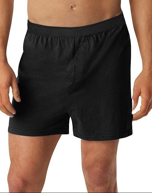 Boxer bumbac cu slit, marime mare 5 xl american, ALAMICUTZU negru talie 100 – 190 cm