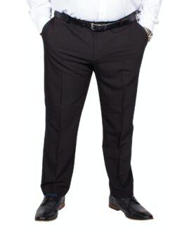 Pantalon elegant cu talie culisanta, marime mare 62 american, FARAH CLASSIC negru,  talie 160-170 cm